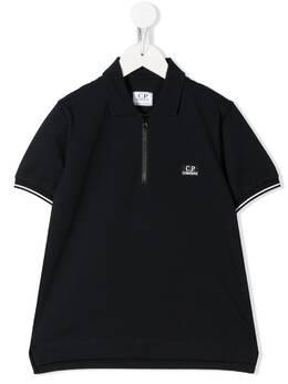 C.P. Company Kids рубашка поло с логотипом 08CKPL037A005263W