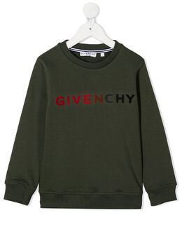 Givenchy Kids толстовка с логотипом H25224642