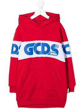 GCDS Kids худи с логотипом 025758