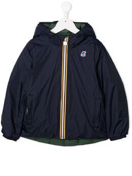 K Way Kids непромокаемая куртка с капюшоном K111BEW