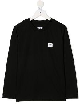 C.P. Company Kids футболка с круглым вырезом CKTS030A005792W