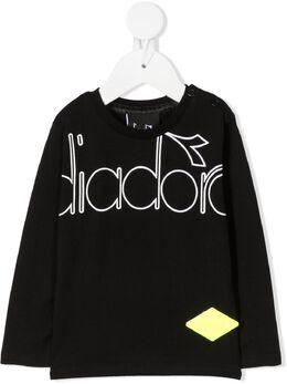 Diadora Junior футболка с логотипом 025987