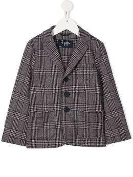 Il Gufo клетчатый однобортный пиджак A20BF011M5033