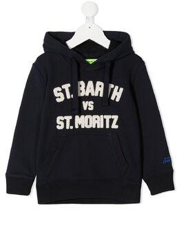 Mc2 Saint Barth Kids худи с логотипом OLI0001BAMO