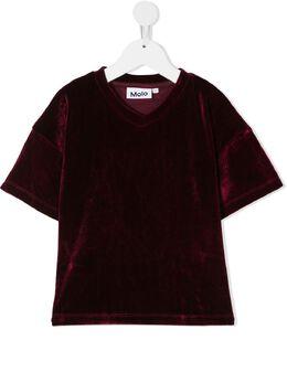 Molo бархатная футболка 2W20A223