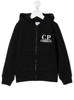 C.P. Company Kids худи на молнии с линзой 09CKSS021A003878W