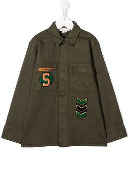 Stella McCartney Kids куртка с нашивками 601431SPK21