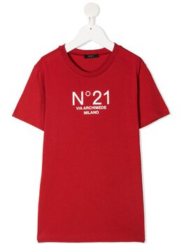 No.21 Kids футболка с логотипом N21108N0153