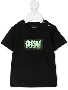 Diesel Kids футболка с логотипом K0004400YI9