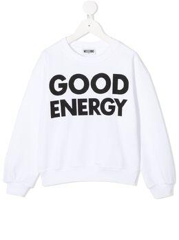Moschino Kids свитер Good Energy HUF03QLCA21
