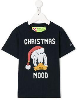 Mc2 Saint Barth Kids футболка Christmas Mood свободного кроя CAM0001