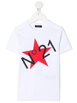No.21 Kids футболка с логотипом N21028N0080