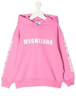 MSGM Kids худи с логотипом MS026826