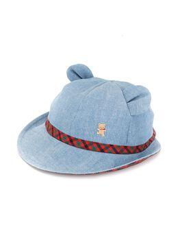 Familiar джинсовая шляпа с ушками 557001