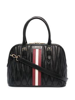 Bally стеганая сумка-тоут с полосками 6236132