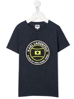 Karl Lagerfeld Kids футболка с логотипом Z25245