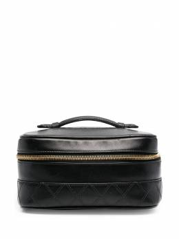 Chanel Pre-Owned стеганая косметичка FRT2036