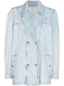 Isabel Marant Etoile двубортная джинсовая куртка Lucinda VE157521P019E