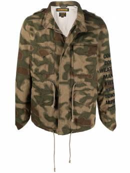 Neighborhood куртка M-65 с камуфляжным принтом 181BENHJKM01