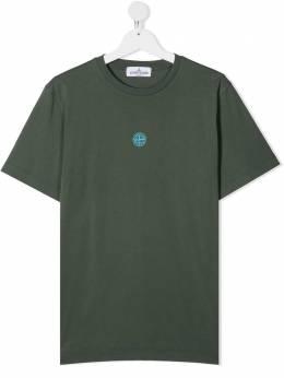 Stone Island Junior футболка с логотипом MO741621057