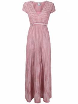 M Missoni трикотажное платье макси в полоску 2DG005842K008Y