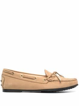 Tod's мокасины на шнуровке XXW74B0503006S
