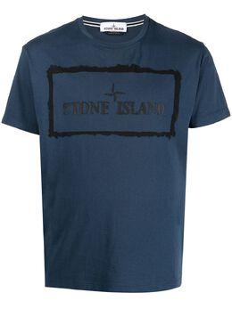 Stone Island футболка с короткими рукавами и логотипом 74152NS80