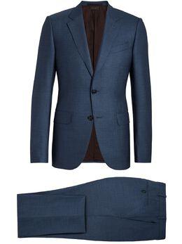 Ermenegildo Zegna костюм-двойка с однобортным пиджаком 922N0321L2N5