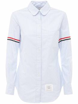 Рубашка Оксфорд Из Хлопка Thom Browne 71I515023-NDgw0