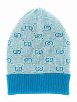 Gucci Kids трикотажная шапка GG 5747204K208