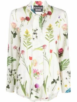 Boutique Moschino рубашка с длинными рукавами с цветочным принтом A02031154