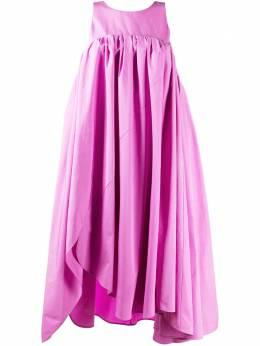 Nina Ricci платье миди асимметричного кроя 21PCRO003CO0539U2689