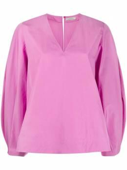 Nina Ricci блузка с рукавами бишоп 21PCTO003CO0539U2689