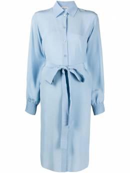 Nina Ricci платье-рубашка длины миди 21PCRO004SE0801U4306