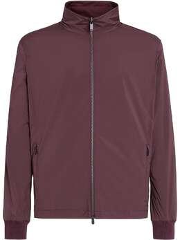 Z Zegna легкая куртка с воротником-стойкой VW044ZZT052