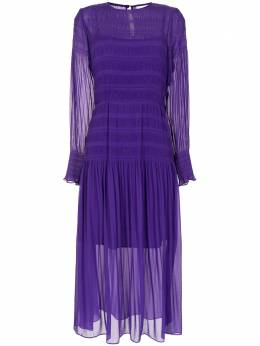 Ginger & Smart платье миди Evolution со складками S20512A