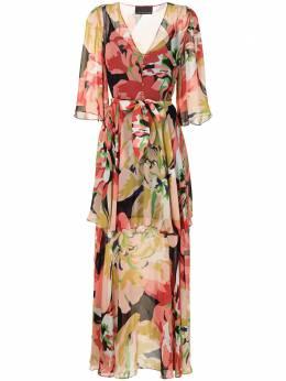 Ginger & Smart платье макси Delirium с цветочным принтом S20510B