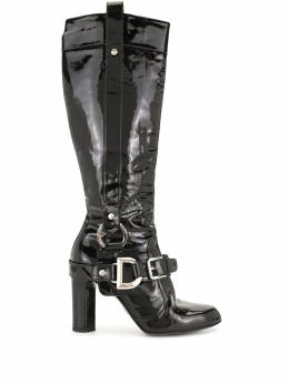 Dolce&Gabbana Pre-Owned лакированные сапоги WS2794DGSH