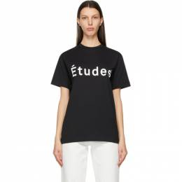Etudes Black Wonder T-Shirt E14B-426-01