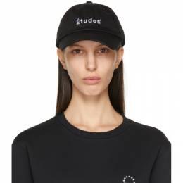 Etudes Black Logo Booster Cap E15B-806-01
