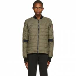 Canada Goose Green Down Dunham Jacket 2210M