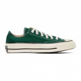 Converse Green Chuck 70 OX Sneakers 168513C