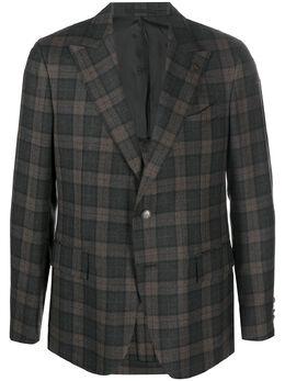 Gabriele Pasini однобортный пиджак в клетку G16067ZGP16448