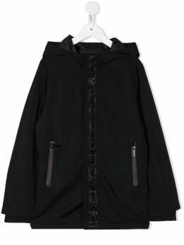 Karl Lagerfeld Kids куртка с капюшоном Z26060