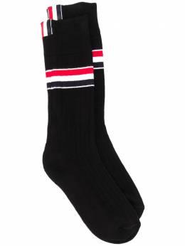 Thom Browne носки с полосками RWB MAS102AY3013
