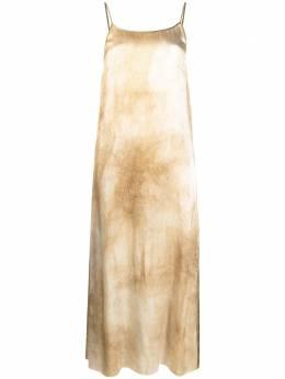 Uma Wang платье с принтом тай-дай UP5018