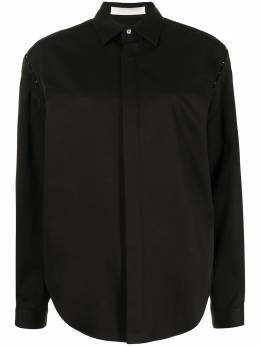 Dion Lee рубашка со съемными рукавами на крючках A5127R21