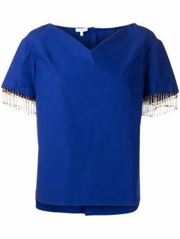 Delpozo рубашка с бисером 4202511003