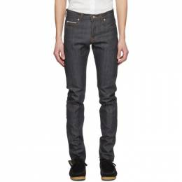 Naked And Famous Denim Blue Super Guy Jeans 012770