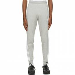 Adidas Originals Grey 3-Stripes Lounge Pants GN3530
